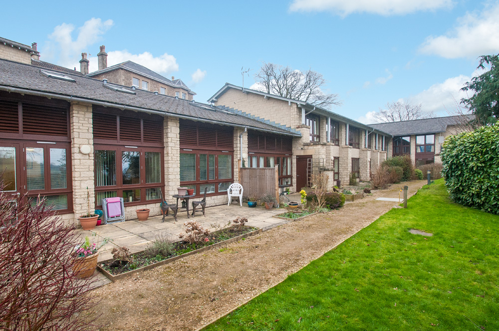 One Bedroom Retirement Garden Apartment
